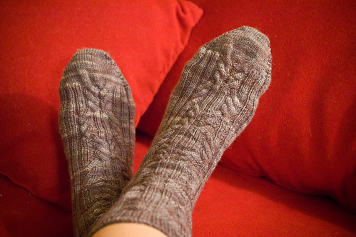 Christmas socks! (by bookgrl)