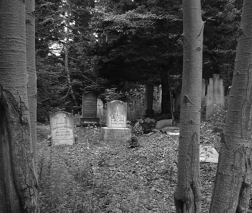 One of the cemetaries...
