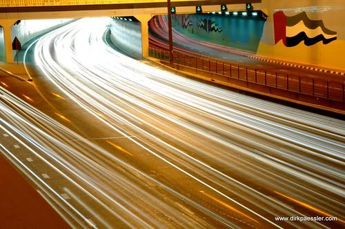 Tunnel at Sheikh Zayed Road, Dubai