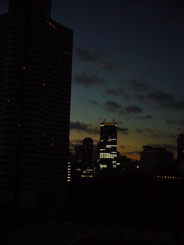 Sunrise, Tokyo