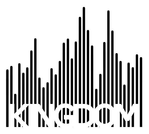 Logo for Kingdom, a new bar in Austin!