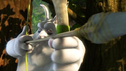 The Scene from Big Buck Bunny
