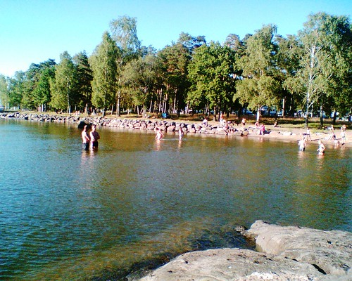 Ekudden Beach, Mariestad