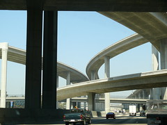 110N/105 Interchange Carpool lanes