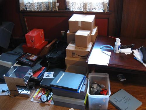 All of my earthly belongings.