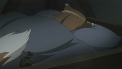Spice and Wolf 11 Horo in bed