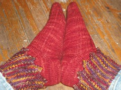 Beaded Gypsy Dancing Socks -  Complete
