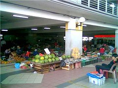 Jungle produce section