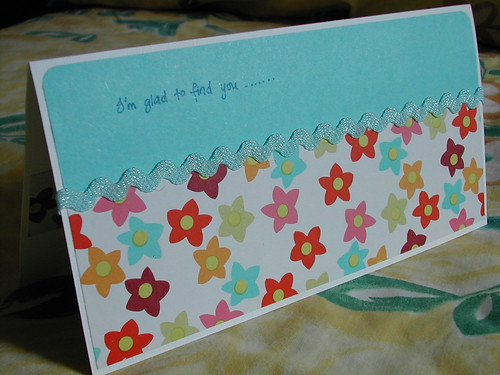 Handmade Card for Denise
