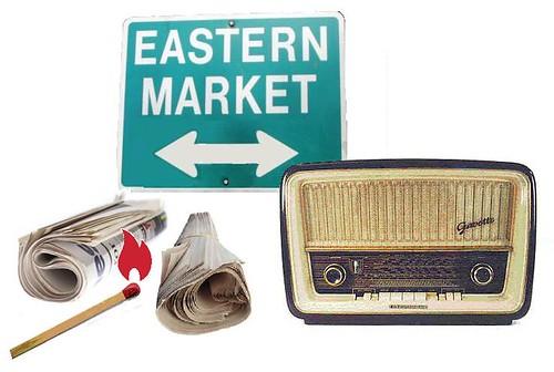 Eastern Market Burned Again -- by the Media