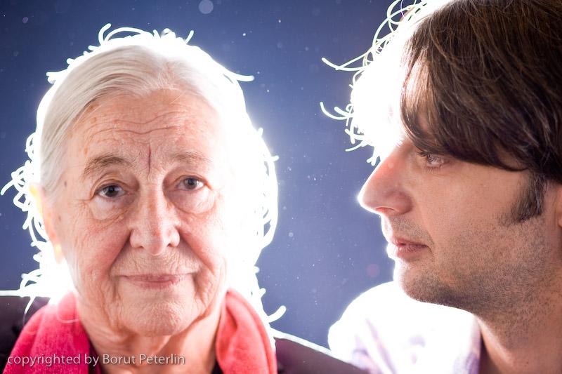 Štefka Drolc and Primož Ekart 20081010_9746