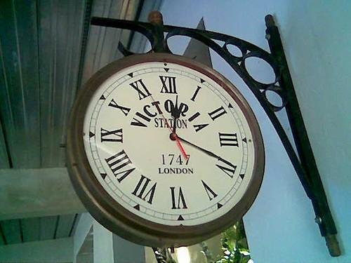 Sibu's The Ark Victoria Station clock