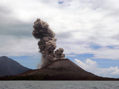 Krakatoa (Krakatau, Krakatao) / Indonesia, Sun...
