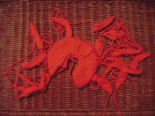 crab pieces