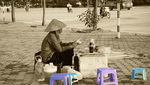 Quán trà vỉa hè by Thuvm.