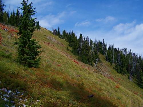 South slope of Vermilion Peak