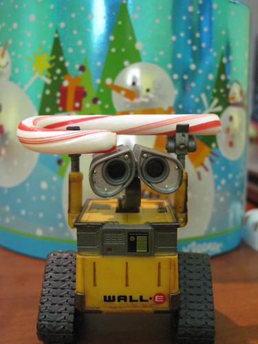 WALL-E Candy Cane