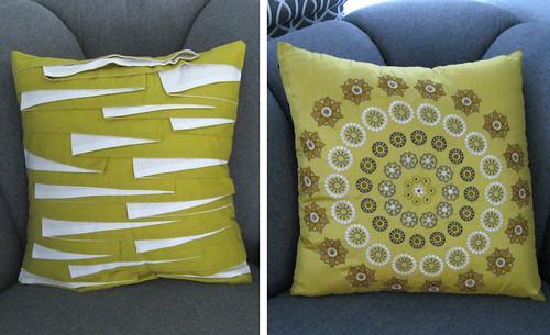 e b pillows