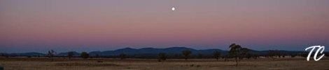 Sunset in Gunnedah