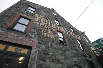 The YellowBelly Brewery, in one of the oldest buildings in St. Johns