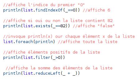 Code Scala