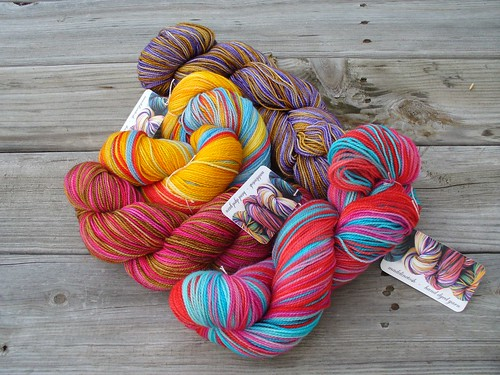 Madeline Tosh Sock yarns