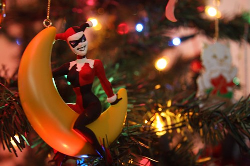 Harley Quinn Christmast Ornament