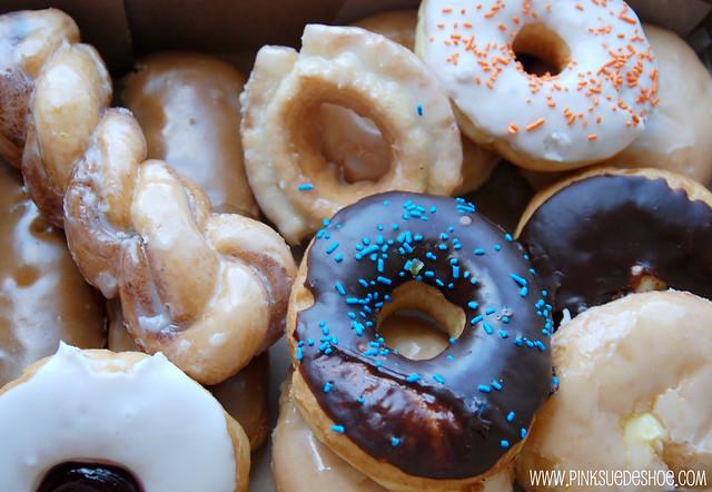 a dozen doughnuts
