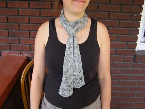 waterfall scarf