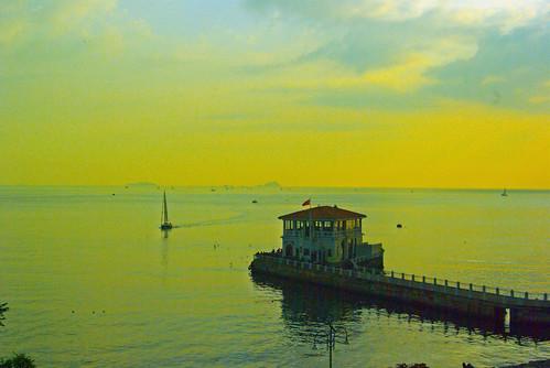 Moda port, Kadikoy (Moda iskelesi, Kadıköy)