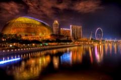 Singapore - A Walk near the Esplanade