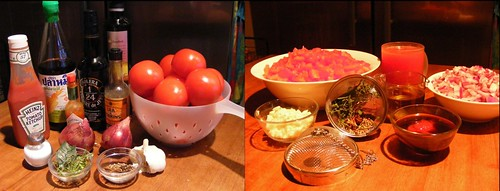 Ingredients for Blumenthal's Tomato Compote