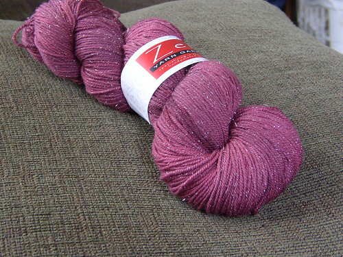 "zen string ""bling yarn"""
