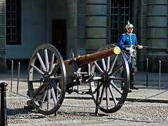 Stockholm, Sweden 068 - Royal Guard at the Sto...
