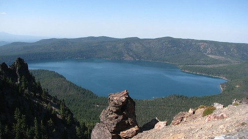 View from Paulina Peak 2