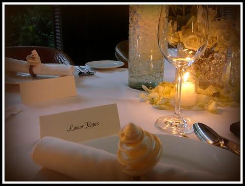 @ Abaca for a friend's wedding reception