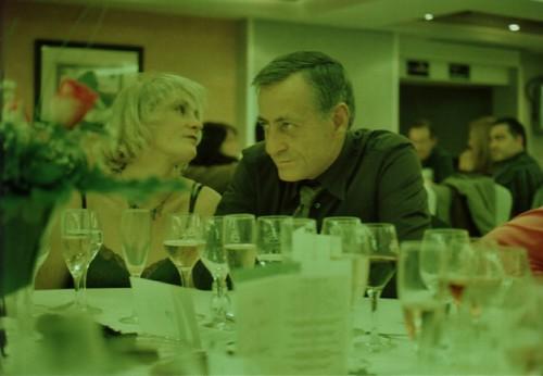 Mis padres en una boda