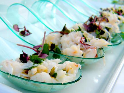 Crab Salad Spoons, MyLastBite.com
