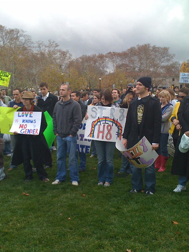 Prop 8 Protest in Pittsburgh