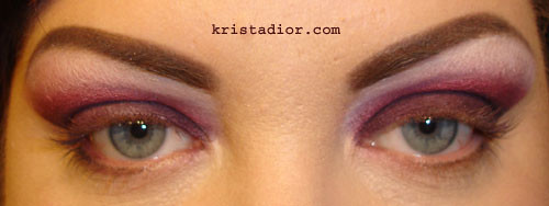 Blended Eyeshadow