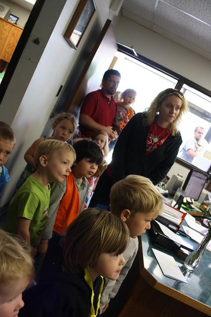 fire station field trip • preschool - 01
