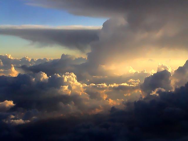 God's Creation vs Evolution's Godlessness, cloudscape2-low