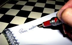 Para escribir