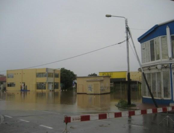 Tropical Storm Omar Rain