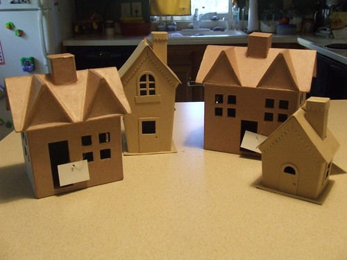 houses in process