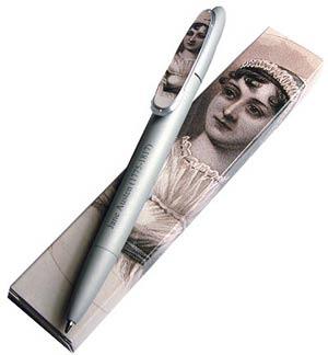 Jane Austen Silver Pen