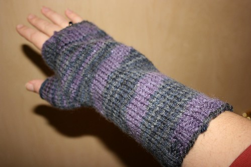 One finished mitt - My Hand