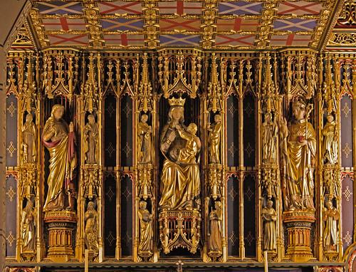 Lady chapel reredos (Comper)