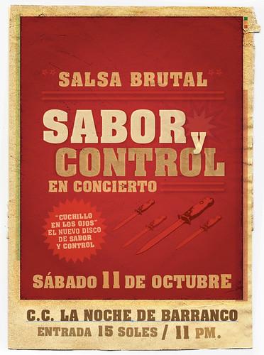 Afiche Sabor y Control Oct