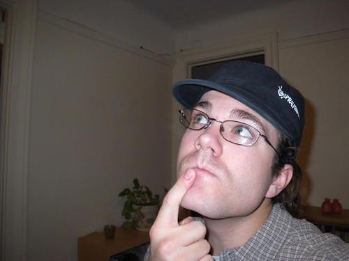 Movember 2nd, 2008 - If I contemplate hard enough maybe, just maybe it will grow faster...